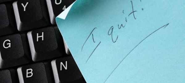 I quit! When are resigning employees required to give a two-weeks notice?